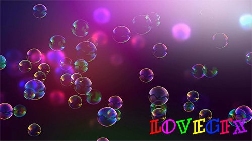 Bubbles Background HD