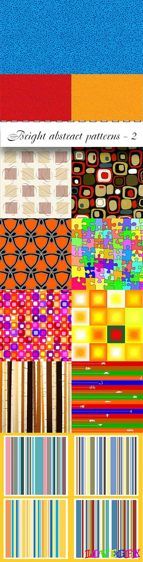 Bright abstract patterns - 2