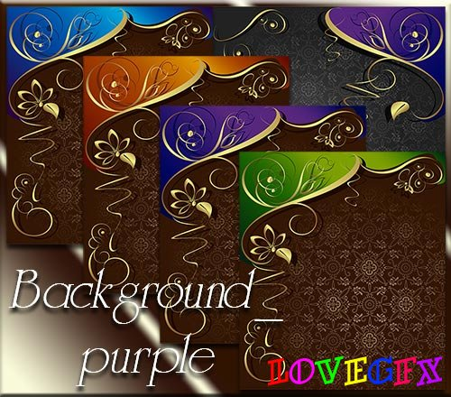 Vector stock background