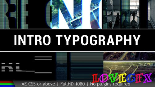 Intro Typography - Project for After Effects (Videohive)