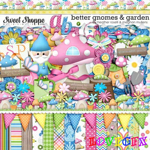 Scrap kit - Better Gnomes Garden