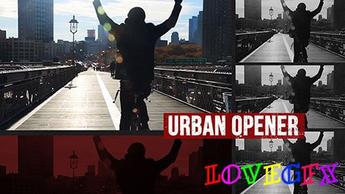 Dynamic Urban Opener 17171212 - Project for After Effects (Videohive)