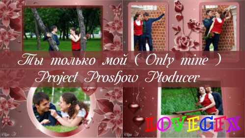 You're just my - project for ProShow Producer