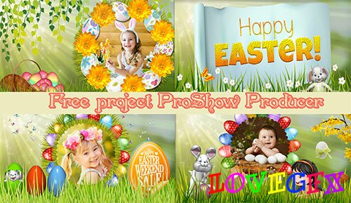 Easter - project ProShow Producer