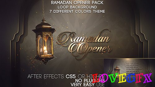 Ramadan Opener Pack - Project for After Effects (Videohive)