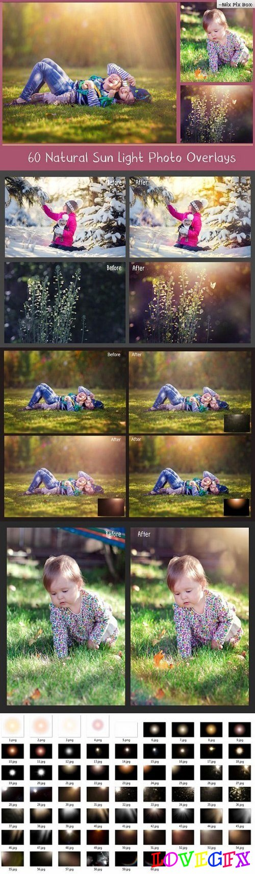 Natural Sunlight photo overlays 618525