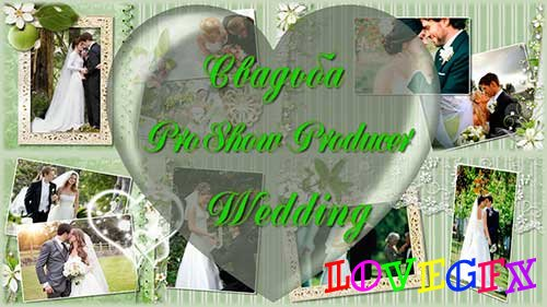 Wedding album - project ProShow Producer