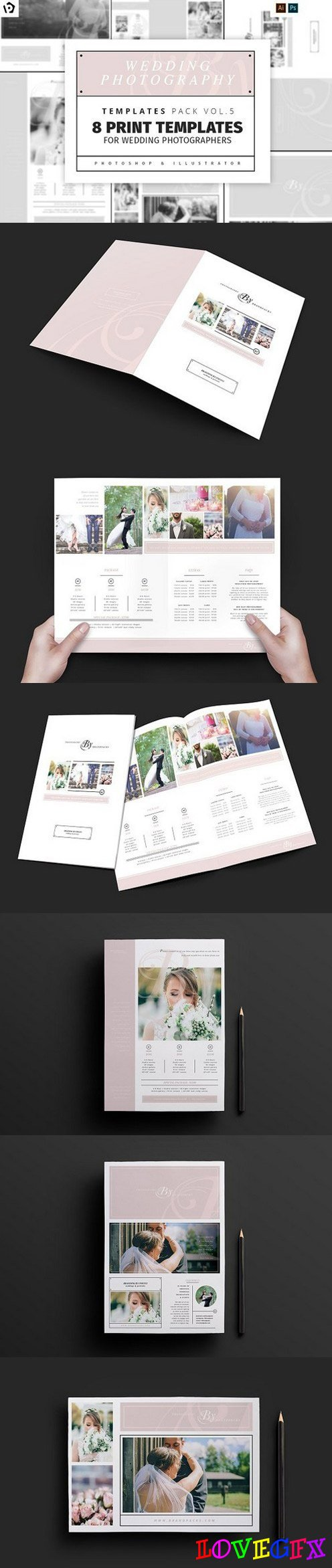 Wedding Photography Templates Pack 5 1347997