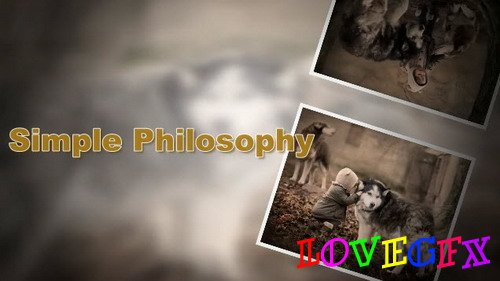 Simple Philosophy - Project for Proshow Producer