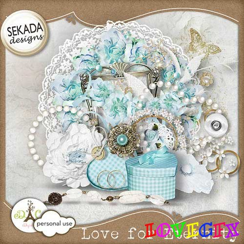 Scrap kit - Love for Eternity
