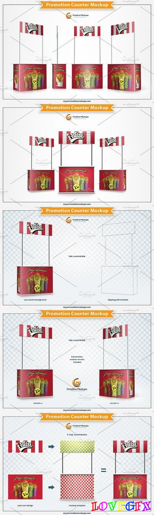 Promotion Counter Mockup 1309006
