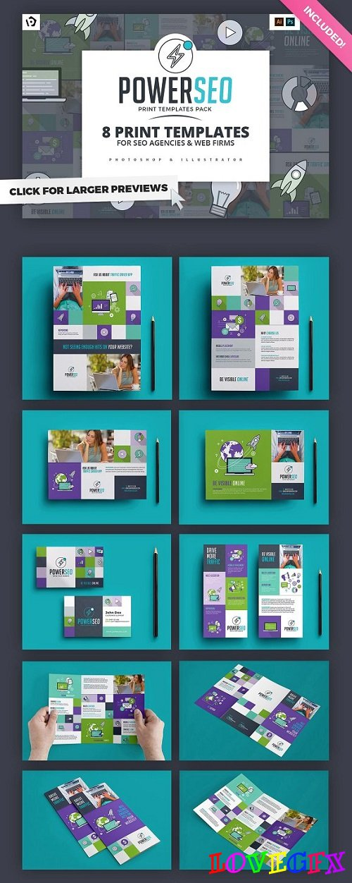 SEO Agency Templates Pack - 1184966