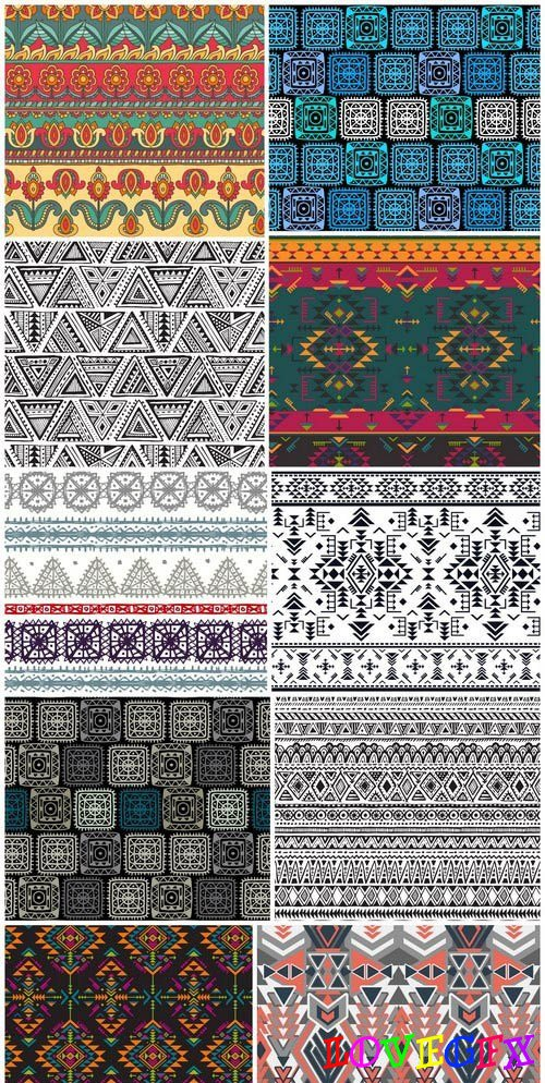 Tribal & Ethnic Ornaments 6 - 21xEPS Vector Stock