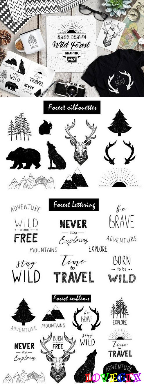 Wild Forest graphic pack 1349028