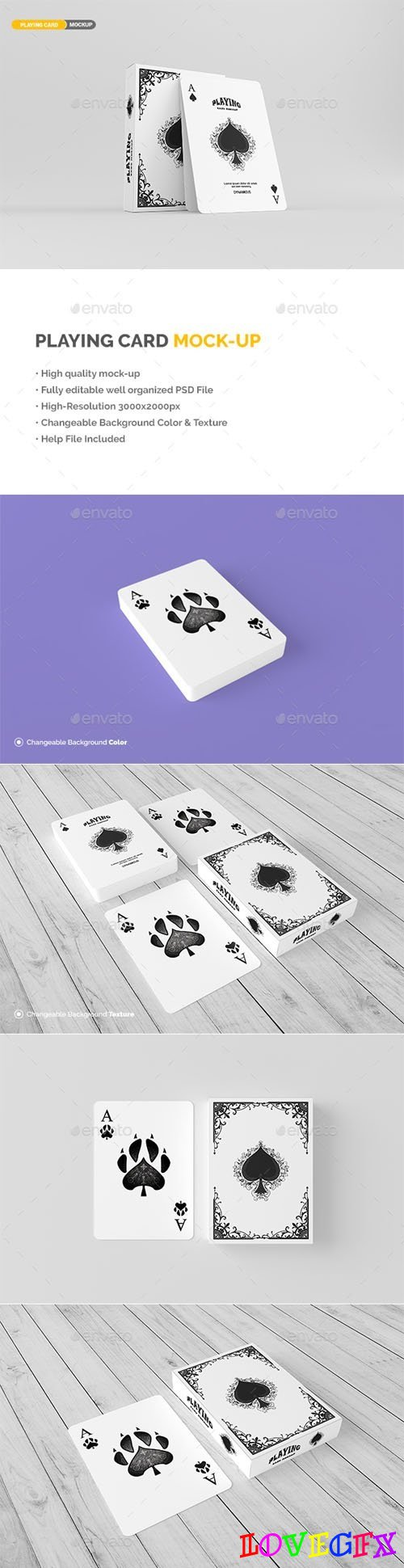 Playing Cards Mockup 19863864