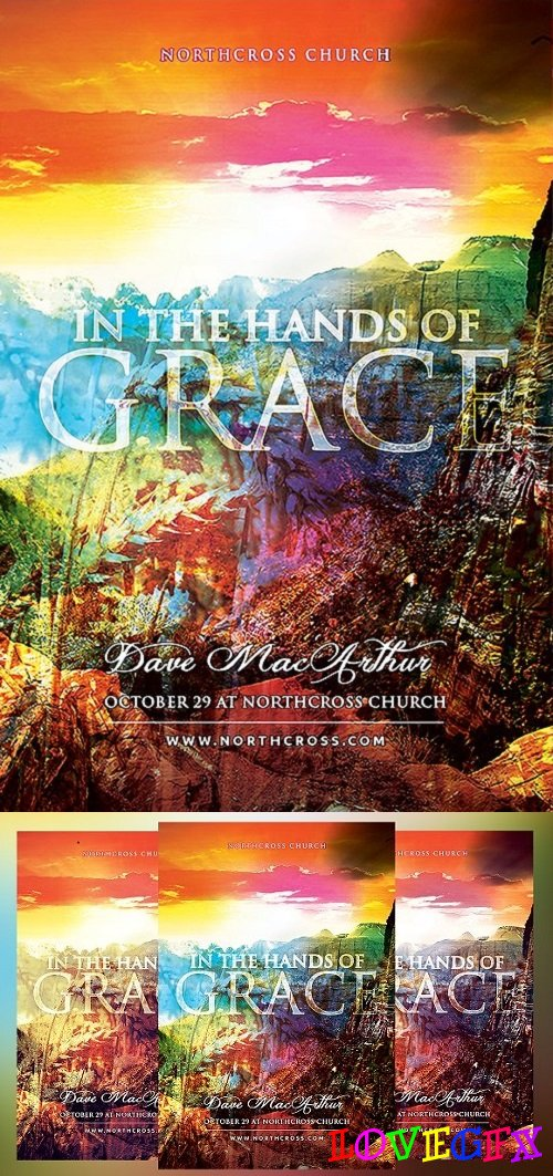 In the Hands of Grace Church Flyer 1492482