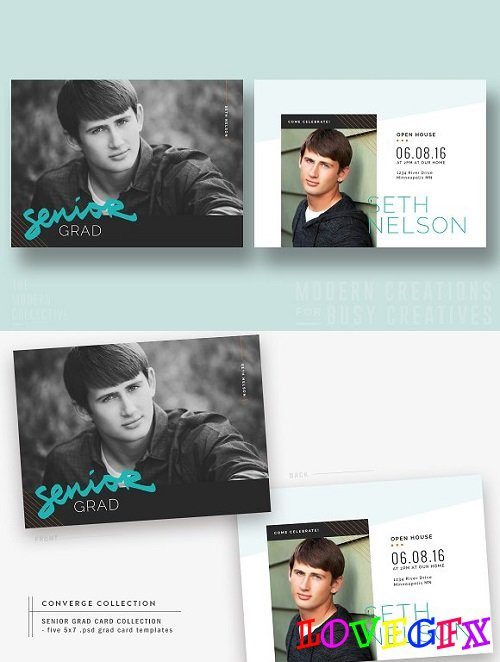 Grad Card | At a Slant - 1408458