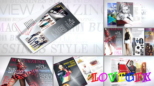 Magazine Promo - Project for After Effects (Videohive)