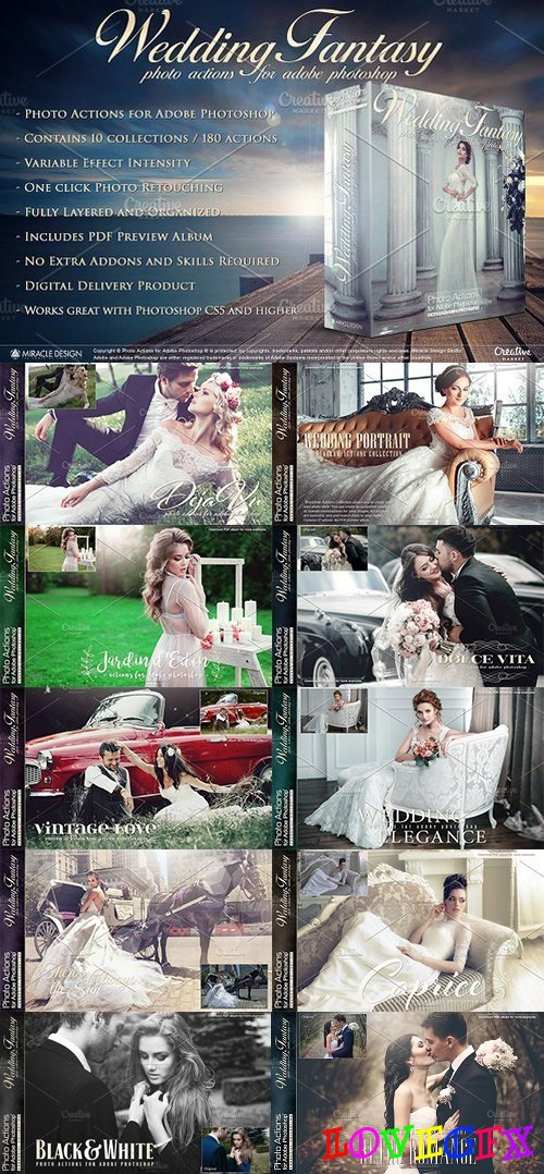 Actions for Photoshop / Wedding 1504866