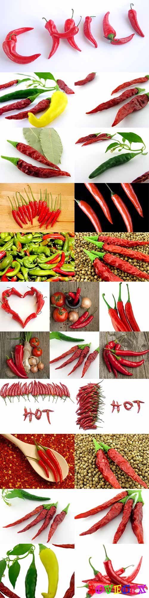 Vegetables - chili peppers