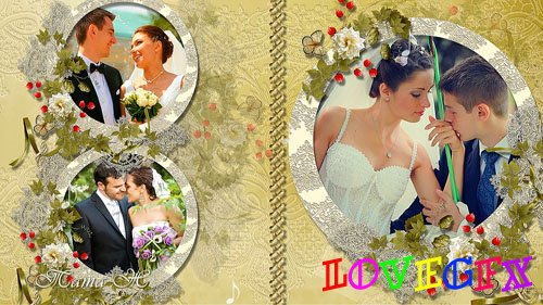 Wedding project Melody of love for ProShow Producer