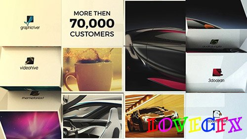 3D Slideshow e-store / e-commerce - Project for After Effects (Videohive)