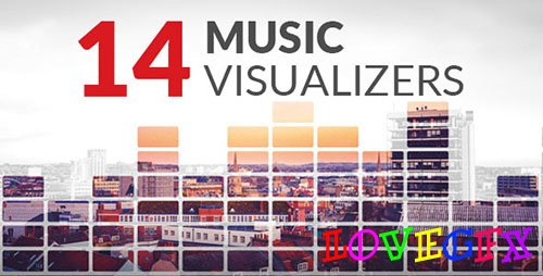 14 Music Visualizers - Project for After Effects (Videohive)