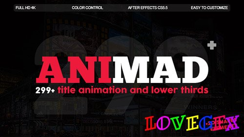 AniMad | 299+ Titles and Lower Thirds - Project for After Effects (Videohive)