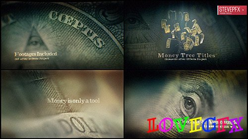 Money Tree Title - Project for After Effects (Videohive)