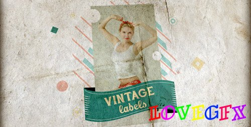 Vintage Labels 3 files - Project for After Effects (Videohive)