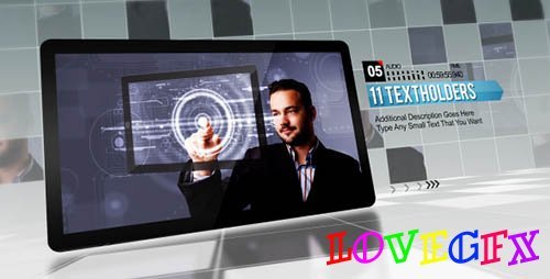 Corporate Grid - Project for After Effects (Videohive)