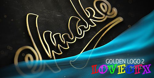Gold Logo 19997795 - Project for After Effects (Videohive)