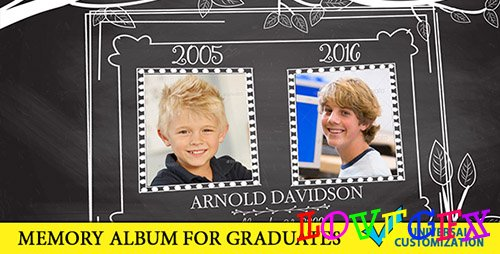 Graduation Memory Board - Project for After Effects (Videohive)