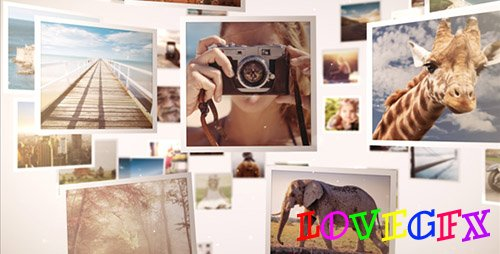 Mosaic Gallery 3D - Project for After Effects (Videohive)