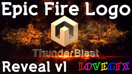 Epic Fire Logo v1 - After Effects Template