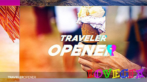 Traveler Opener 20265704 - Project for After Effects (Videohive)