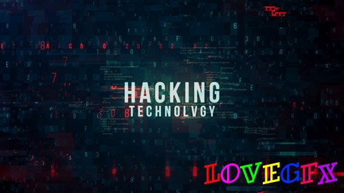 Hacking Technology Promo - Project for After Effects (Videohive)