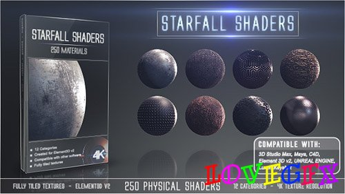 Starfall Shaders - Project for After Effects (Videohive)