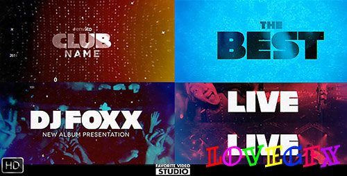 Favorite Music Typography - Project for After Effects (Videohive)