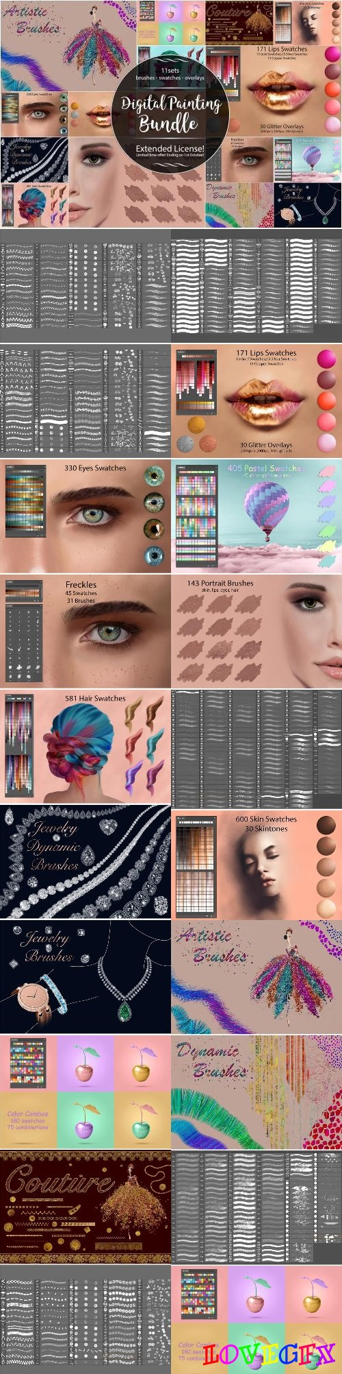DigitalPainting Assets for Creatives 1792082