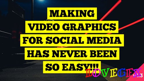 Social Media Video Graphics Version 1.3 - After Effects Scripts (Videohive)