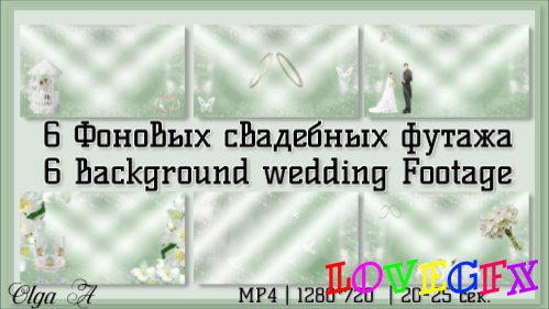 Background wedding footage HD