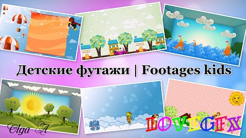 Footages kids HD - Bright sunlight