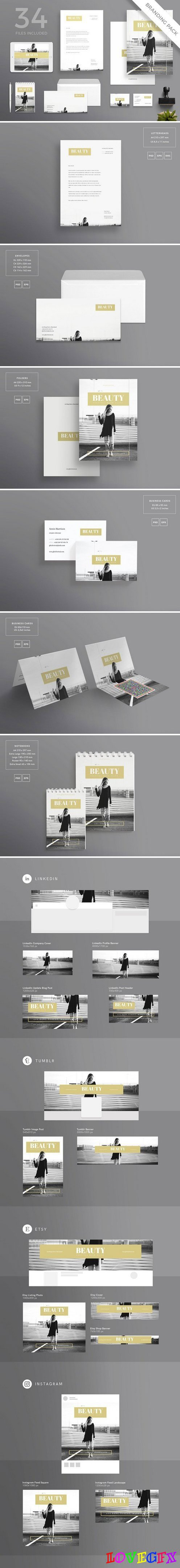 Branding Pack | Beauty Festival 1532598