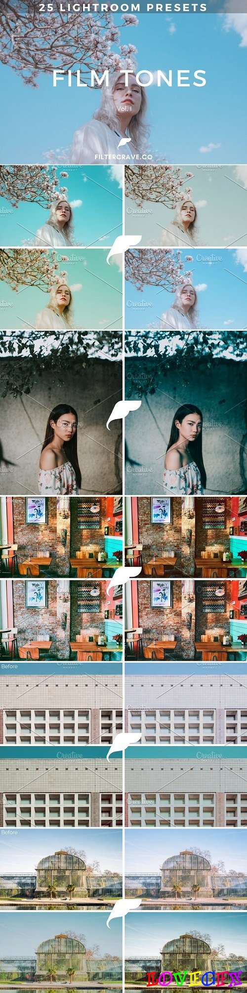 25 Film Tone Lightroom Presets I 1969137
