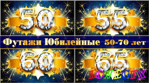 Set footages - Happy anniversary 50-70 years