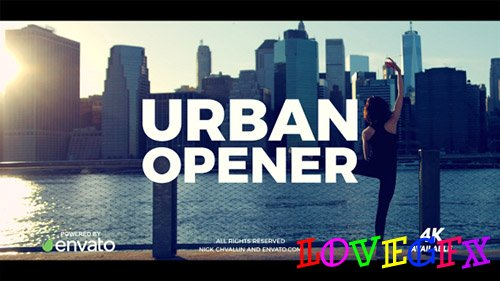 Urban Opener 20949693 - Project for After Effects (Videohive)