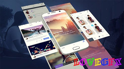 Android App Presentation Template - Project for After Effects (Videohive)