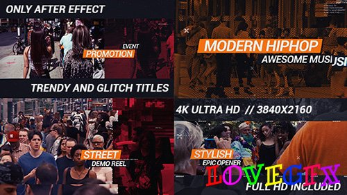 HipHop Urban Opener - Project for After Effects (Videohive)