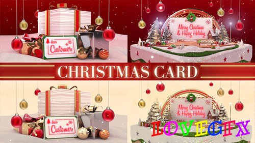 Christmas Card 20935617 - Project for After Effects (Videohive)